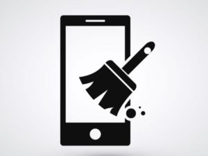 clean your smartphone