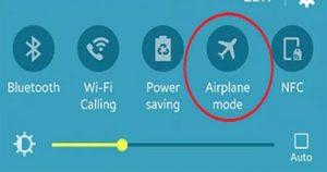airplane mode kya hai